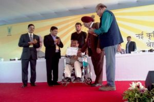KVK entreprenuer awarded during the mela